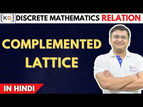 Lattice discrete mathematics part 23 part 32 complemented lattice in discrete mathematics in hindi properties of complemented latti ccuart Images