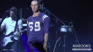 MAROON 5 - Lucky Strike @ Live in SEOUL, 2015 (0909)