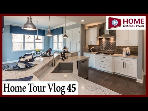 Vlog Tour 45 - Ranch Home Tour at Running Brook Farm by KLM Builders