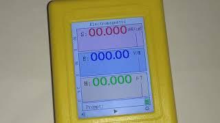 Дозиметр BR 9C показания без электромагнитных помех