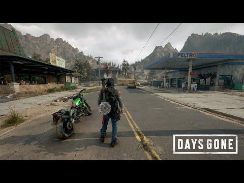 Days Gone PC Gameplay Showcase - 4K Ultra HD Max Settings