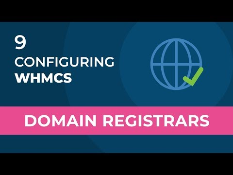 WHMCS Configuring Domain Registrars