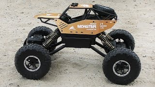 Toy car - monster Sulong Toys Off-Road Crawler Force Unpacking and play