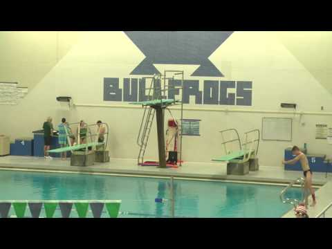 CNHS Invitational Diving