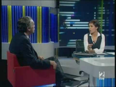 Mara Torres entrevista a Diego López Garrido (PSOE) en La 2 Noticias