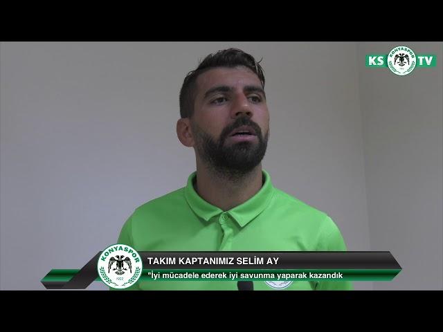 """""""Galibiyet bize moral oldu  Bundan sonra daha iyi bir Atiker Konyaspor izlettirmek istiyoruz"""""""