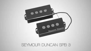 Seymour Duncan SPB-3 vs Mexican Fender P-Bass Pickup