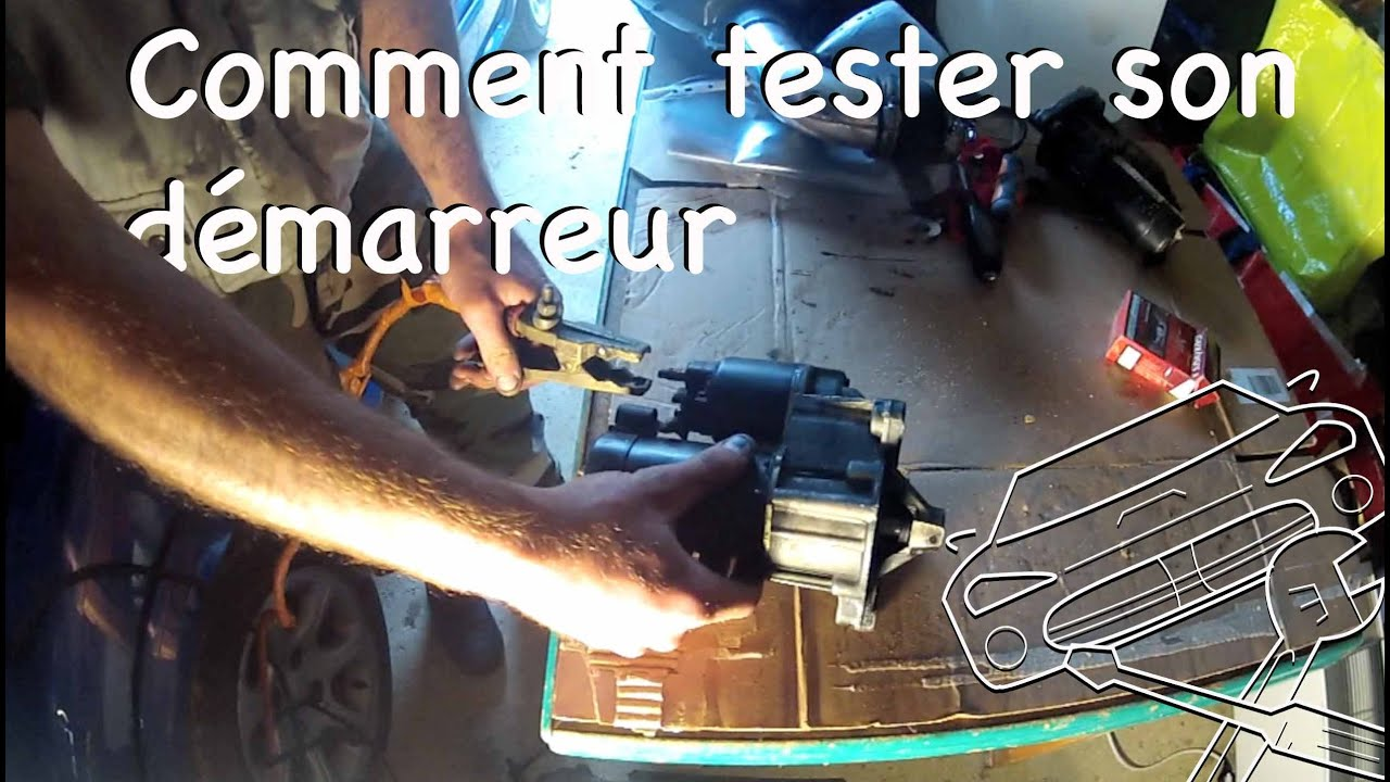 Tutoriel m canique comment tester son d marreur youtube for Comment utiliser essence f