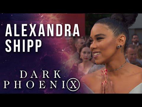 Alexandra Shipp on Storm & strong female Super Heroes LIVE from the X-Men: Dark Phoenix Premiere