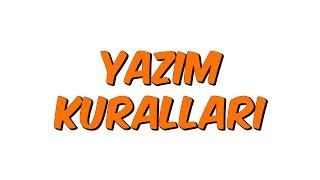YAZIM KURALLARI  Teog-2 Kampı