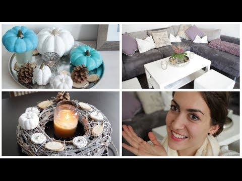 diy herbstdeko 2017 youtube. Black Bedroom Furniture Sets. Home Design Ideas