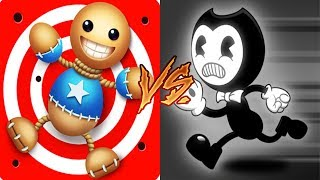 Kick The Buddy Vs Bendy in Nightmare Run - Fun Bendy Walks The Plank Vs The Buddy