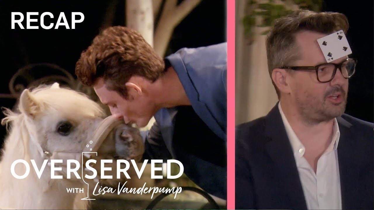 James Kennedy Kisses LVP's Pony: