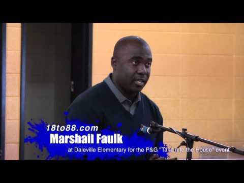 Marshall Faulk Q&A at Daleville Elementary School