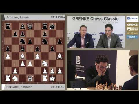 Round 7 - 2017 GRENKE Chess Classic