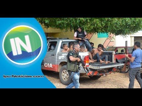 Mega Operação Prende Envolvidos No Assalto Contra Policial Civil