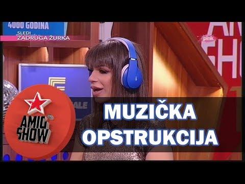 Muzička Opstrukcija - Ami G Show S10 - E29