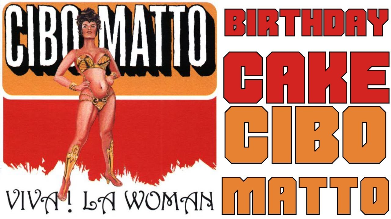 In Defense Of Birthday Cake By Cibo Matto Youtube