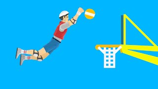 Impossible Basketball Dunk!  Happy Wheels #55