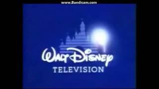 NBC Studios 2000 logo and Walt Disney Television 1998 logo junking together