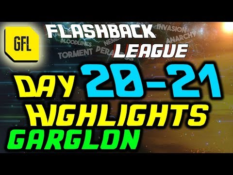 "Path of Exile 3.2: Flashback League DAY #20-21 Highlights ""Gorglon"""