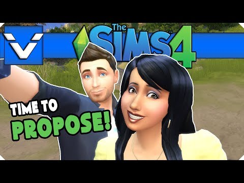 Sims 4 Mini Series | Time To Propose! | Gameplay / Let's Play | Part 14
