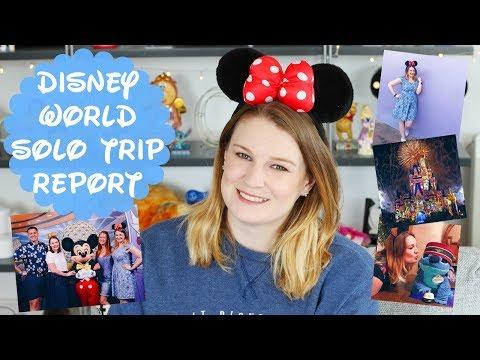 Disney World Solo Trip Report 2017