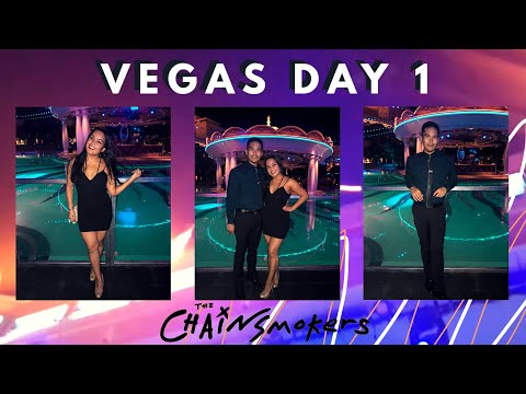 VEGAS DAY 1: Hell's Kitchen & The Chainsmokers At XS Nightclub