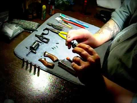 Charter Arms 38 special disassembly (field strip)