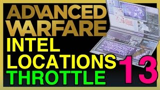 Intel Locations Guide - Throttle (#13) COD Advanced Warfare | WikiGameGuides