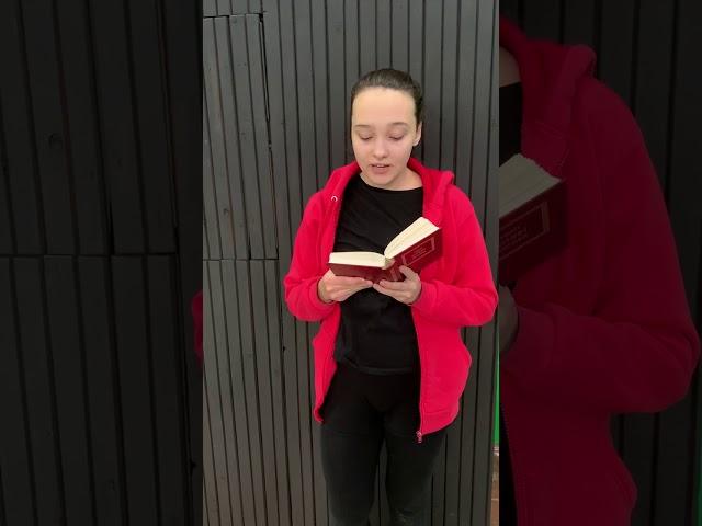 Галичева Анна читает произведение «Две радуги» (Бунин Иван Алексеевич)
