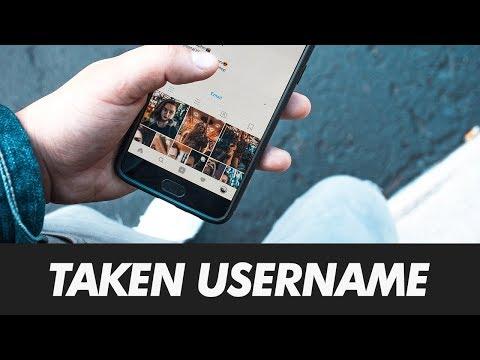 How To Get A Taken Instagram Username in 2018   Get A Inactive Instagram Username