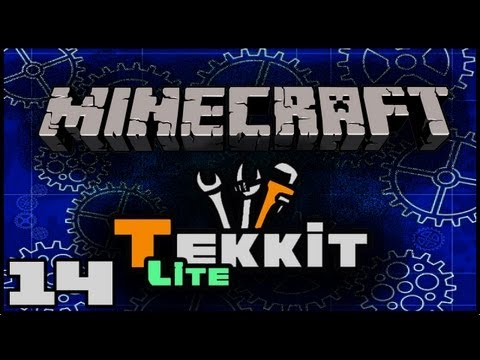 Minecraft: Tekkit Lite With Lewis - Automated Rubber Tree Farm With Minefactory Reloaded #14