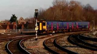 Class 153 and 150 Hybrid train - 3 cars FGW