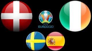 Швеция Испания Швейцария Ирландия Евро 2020 Смотрю матч
