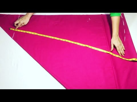Circular Palazzo cutting and stitching easy way