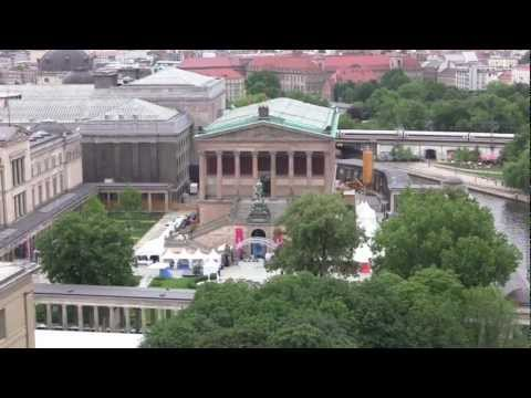 Views over Berlin from Berliner Dom / Berlin Cathedral - 2nd July, 2012 (1080 HD)