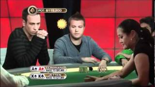 PokerStars Loose Cannon AA v KK
