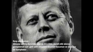Kennedy'nin Ölümüne Sebep Olan Konuşması(illimünati gerçeği)