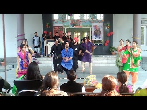 Dance Punjabi at IMS College ,jammu(jamwal group of institution) HALLOWEEN PARTY MiX BB For muscles