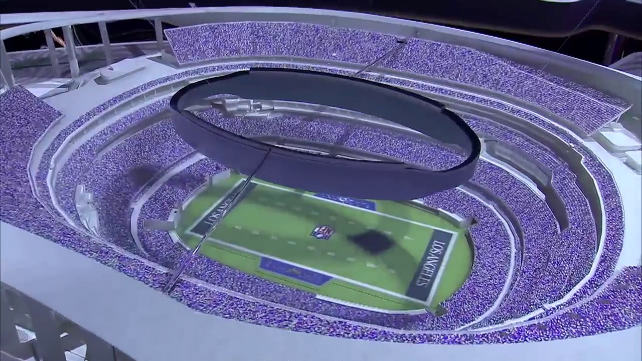 Preview Of Rams Chargers New Stadium Youtube