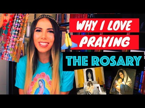WHY I LOVE PRAYING THE ROSARY 🌹📿  HOW TO PRAY IT!
