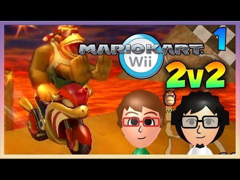 Mario Kart Wii - Troy and Sagar 2v2s - Episode 1: SHORTCUTS!