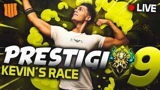 ENTERING PRESTIGE 9!!! NUCLEAR IN LIVE BLACK OPS 4 SOLO KEVIN'S RACE ITA