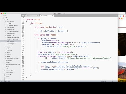 c# http retries with polly - YouTube
