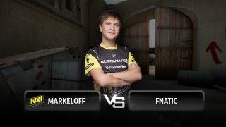 markeloff vs fnatic @ ESEA Invite Season 14 Europe