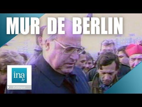Helmut Kohl et  le Bundestag réagissent à la chute du Mur de Berlin - Archive INA