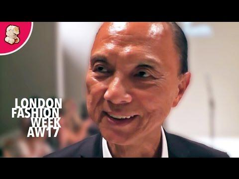 Jimmy Choo | London Fashion Week AW17 | Interview