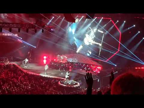 Kiss live in Cleveland Ohio 3/17/19 on the  End Of The Road Tour