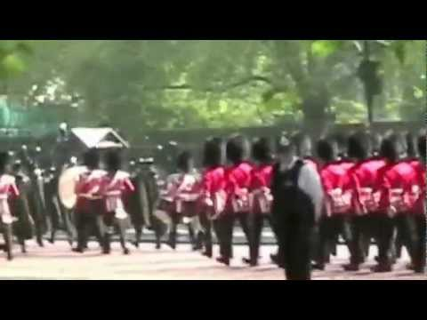 Band of the Irish Guards:  Trooping the Colour Rehearsal:  May 29, 2012